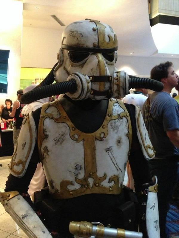 steampunk stormtrooper cosplay
