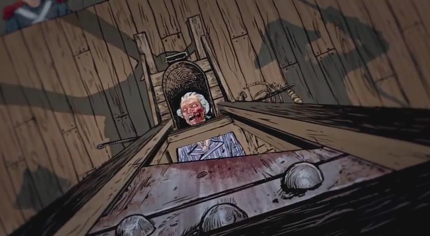 Rob Zombie S Assassin S Creed Unity Cartoon