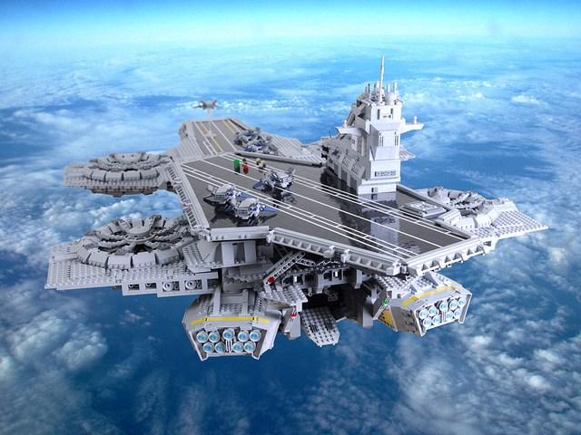 LEGO Helicarrier 3