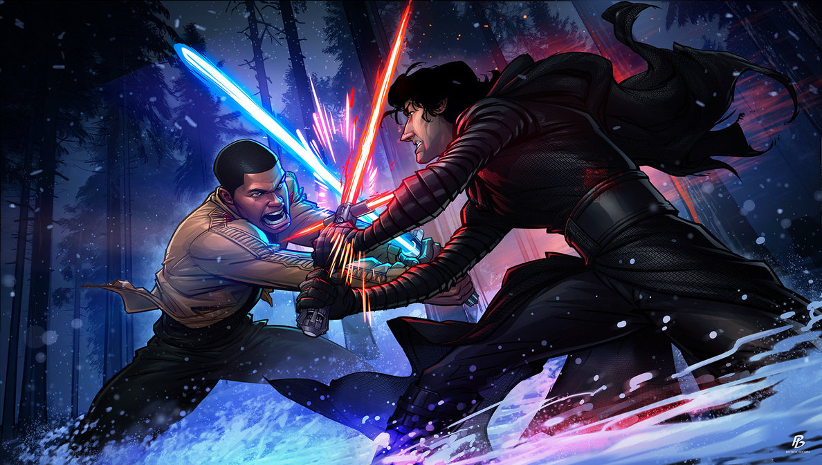 Star Wars - The Force Awakens by Patrick Brown