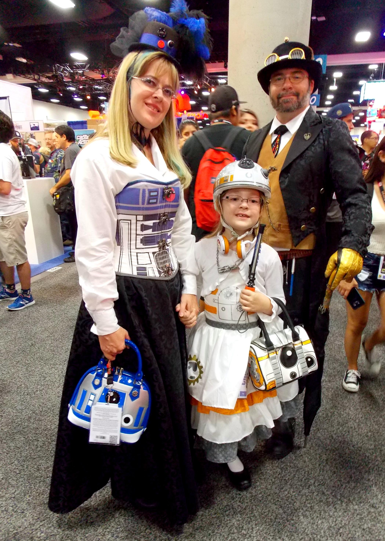 steampunk droids