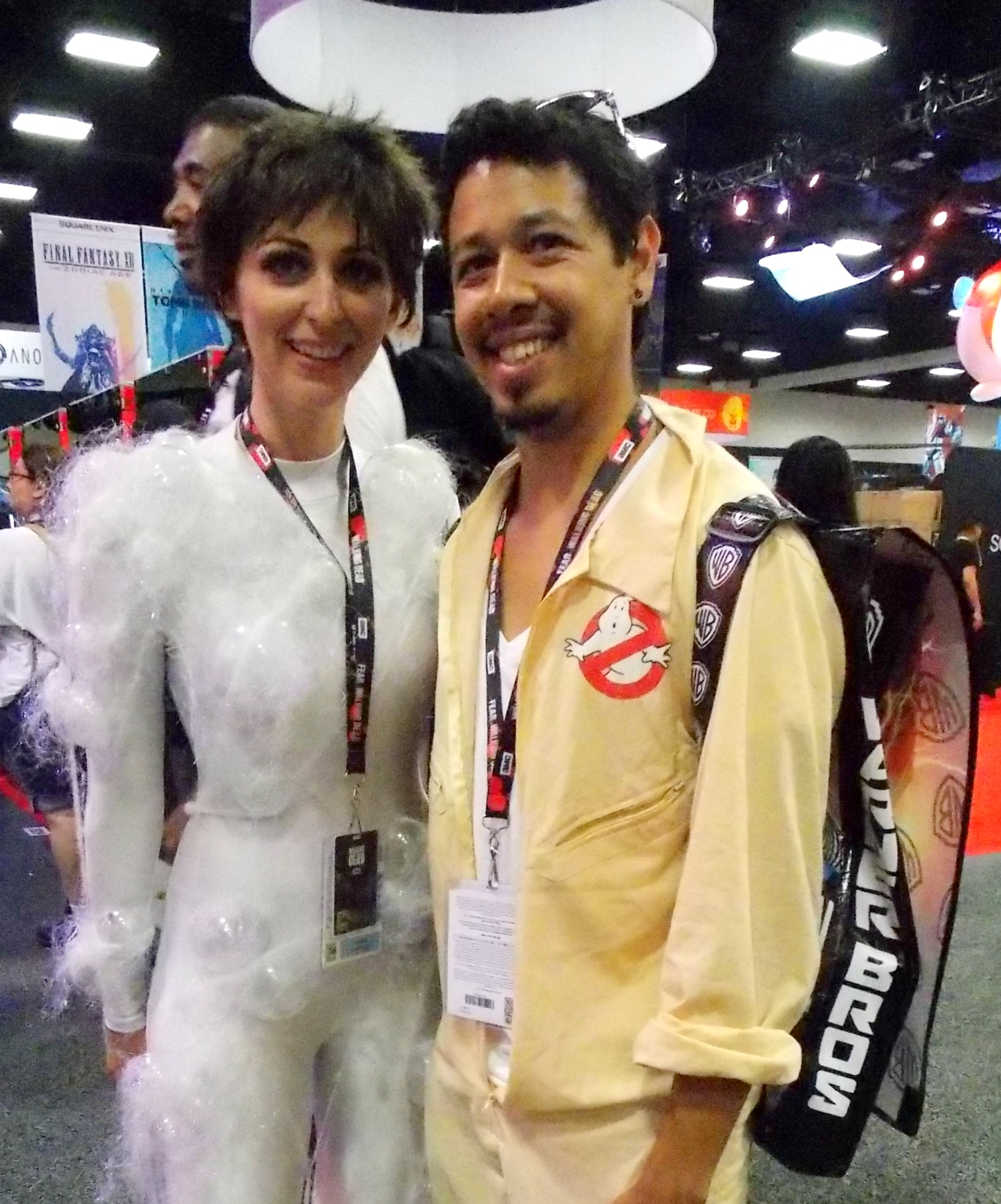 Gozer the Gozerian and A Ghostbuster