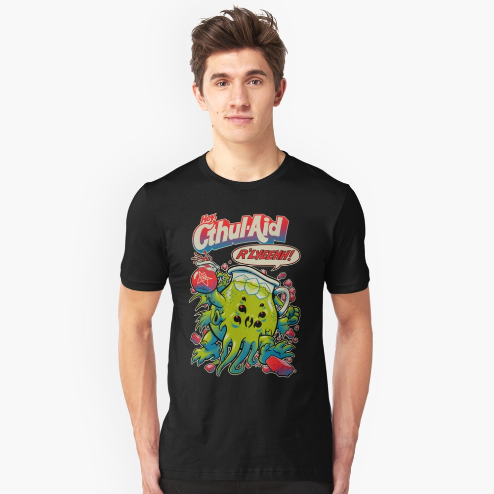 Lovecraft t-shirt: Cthul-Aid