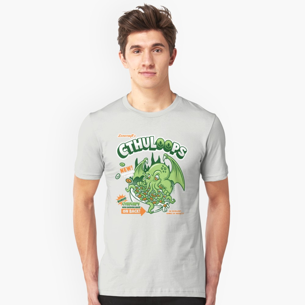 Lovecraft t-shirt: Cthuloops