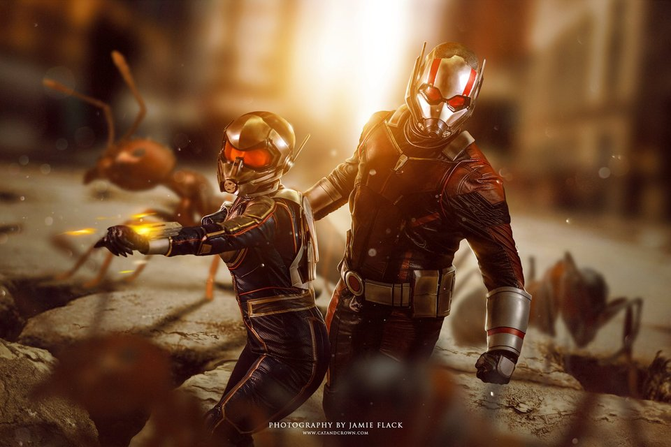 Ant-man and Wasp cosplay