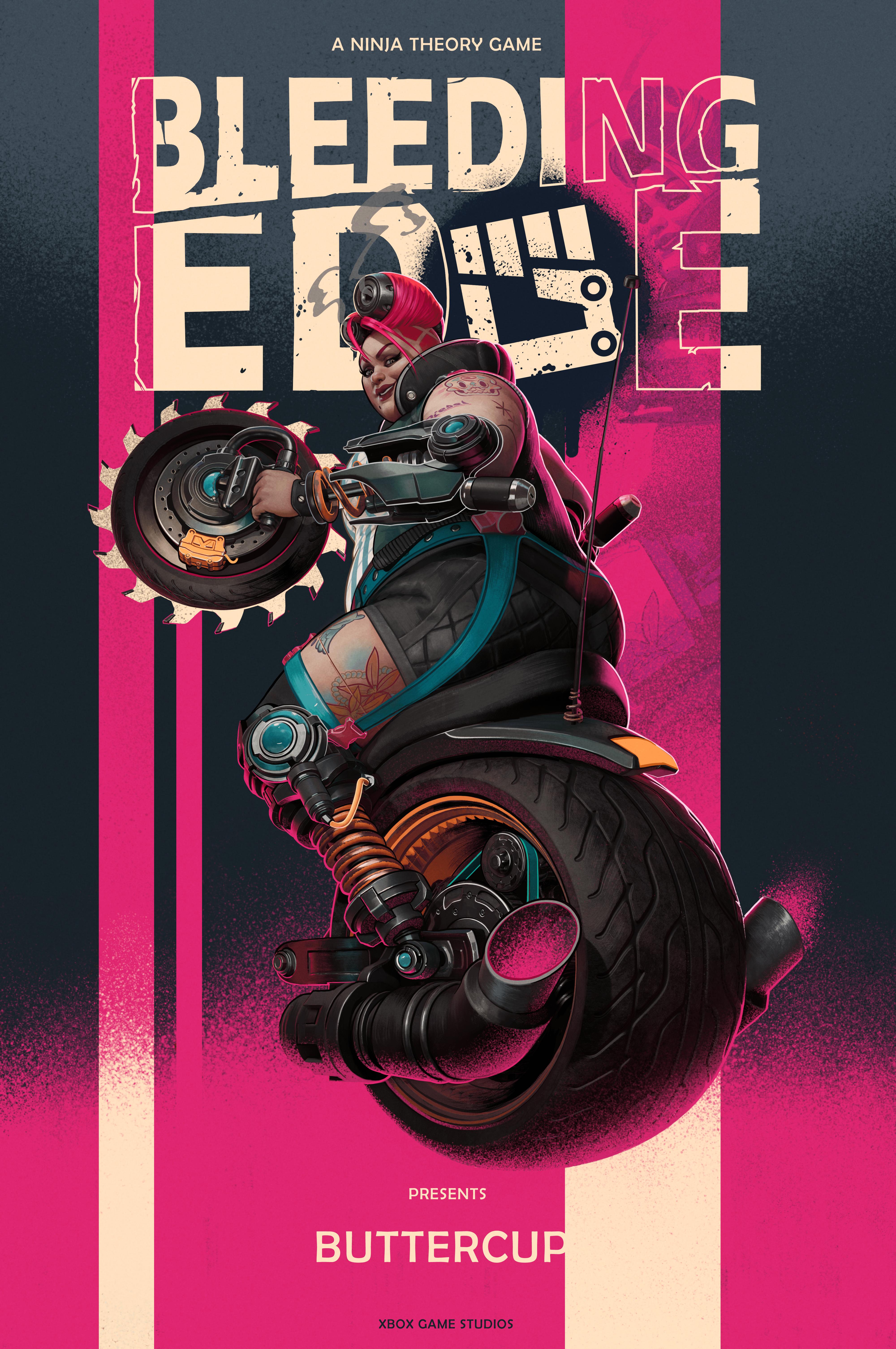Bleeding Edge - Poster - Buttercup