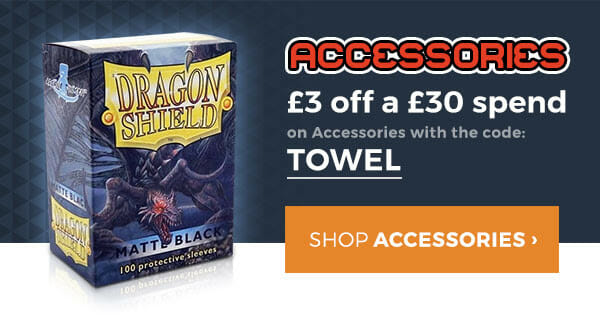TOWEL for £3 off £30.