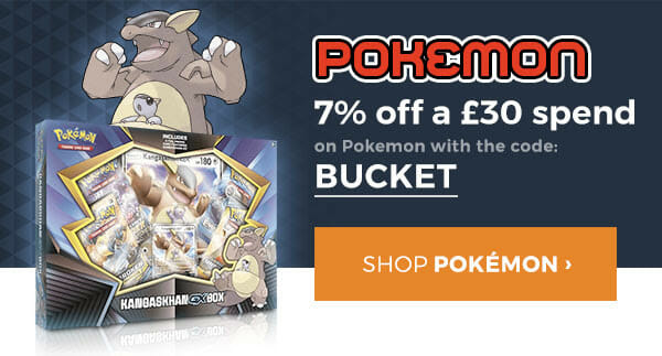 BUCKET for 7% off £30.