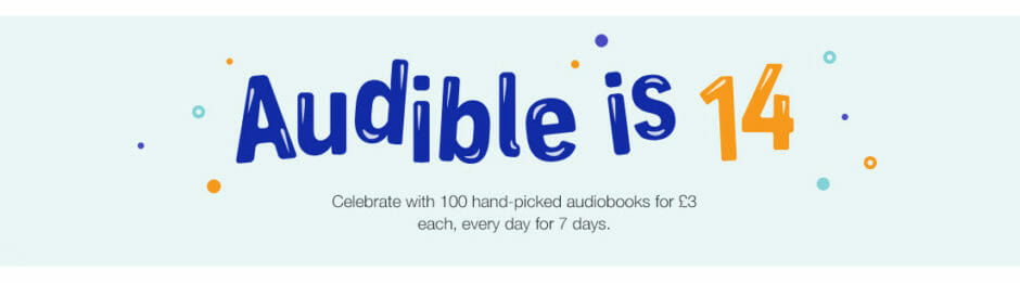 Audible is 14