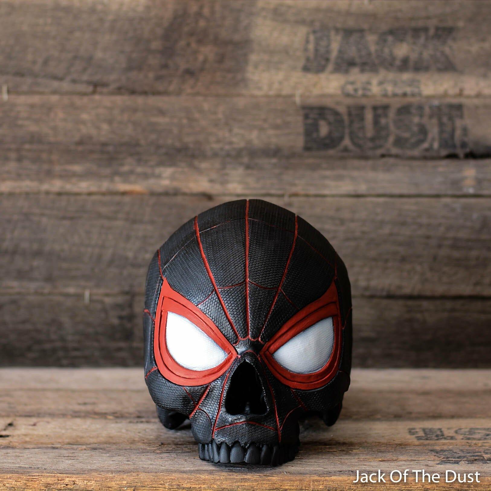 Spider-man skull