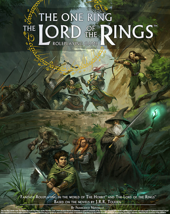The One Ring - The Lord of the Rings RPG