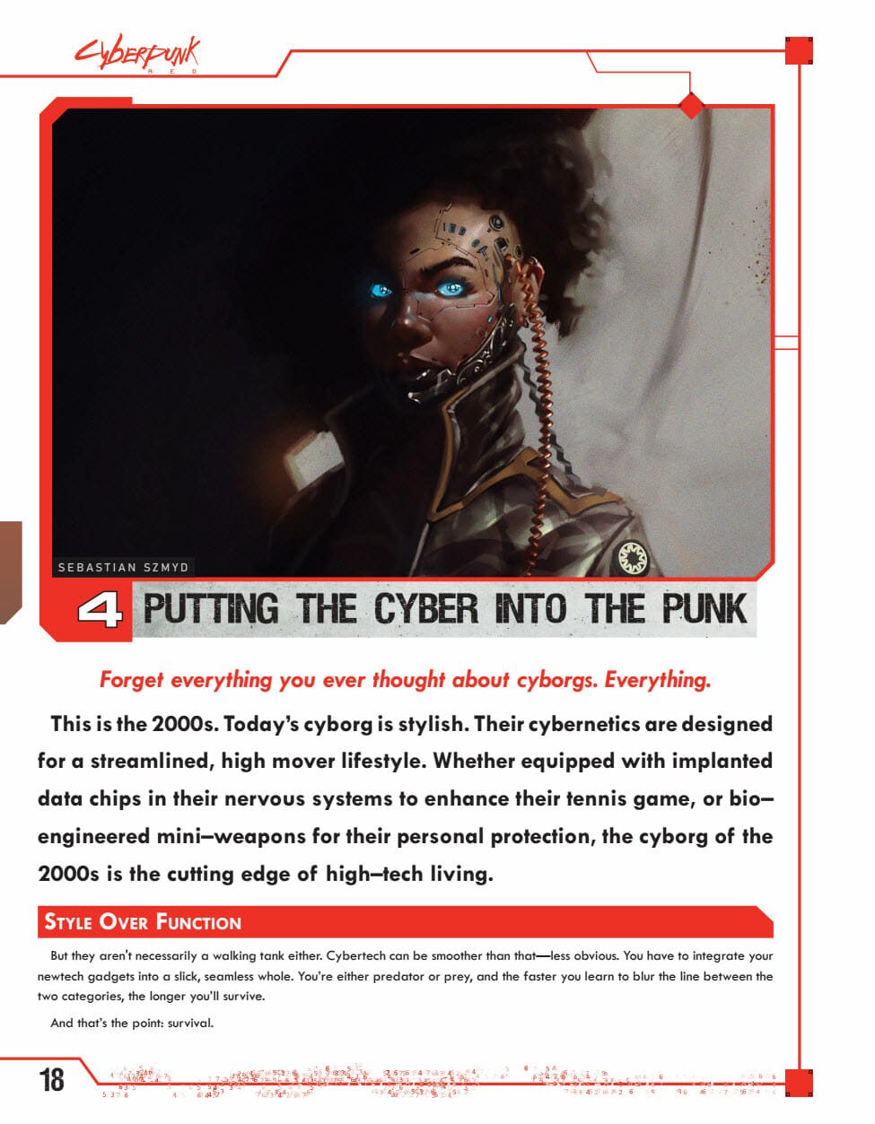 Putting the cyber into punk