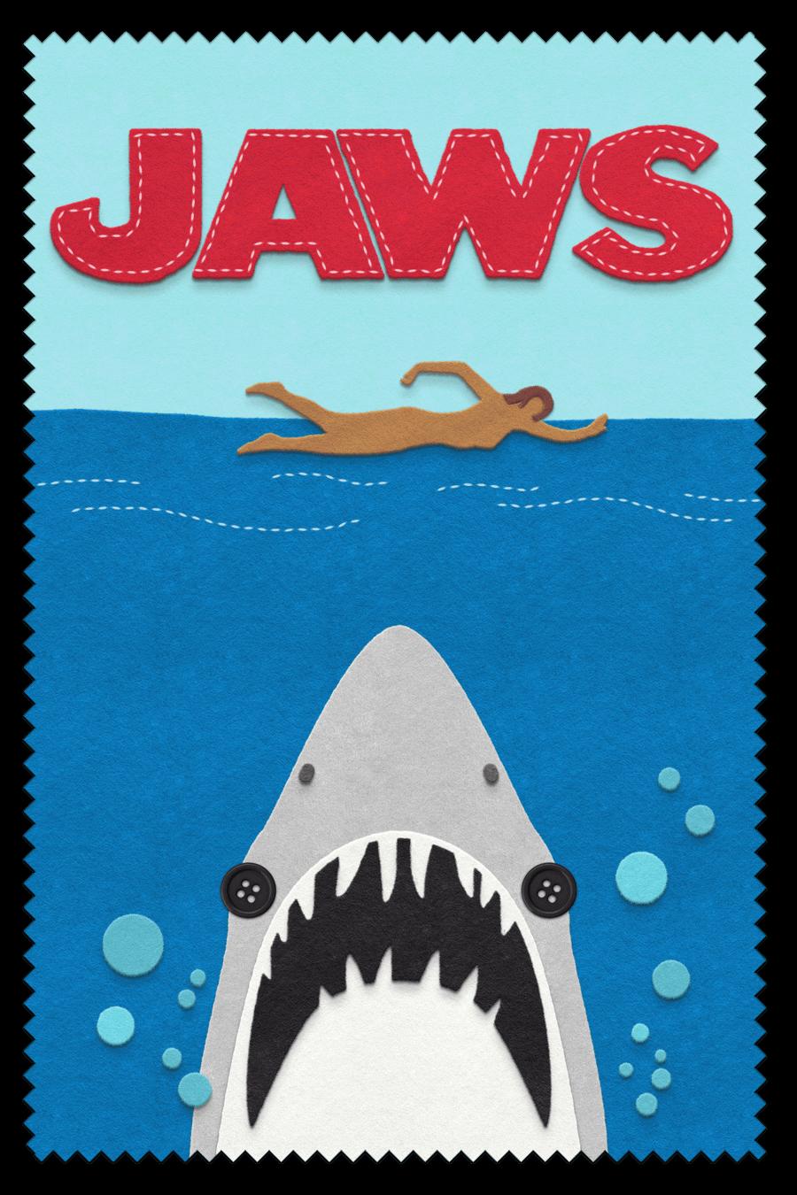 Jaws  felt design