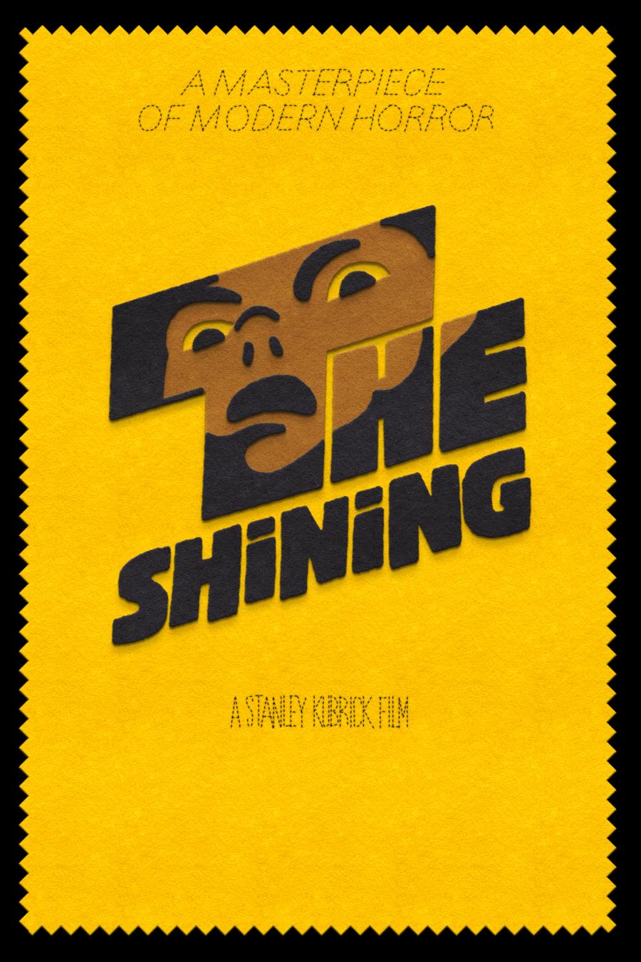 The Shining  felt design