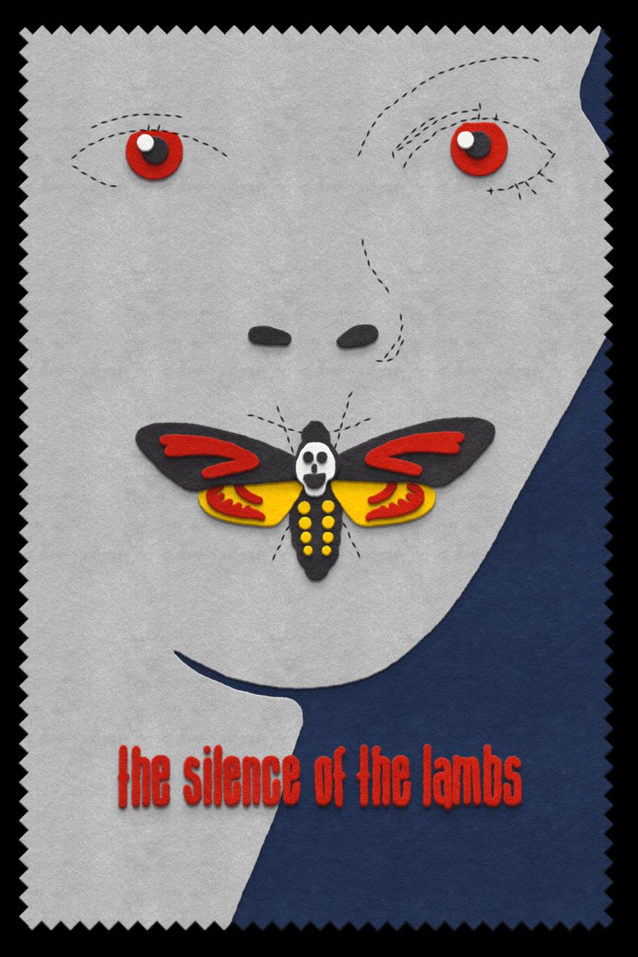 The Silence of the Lambs  felt design