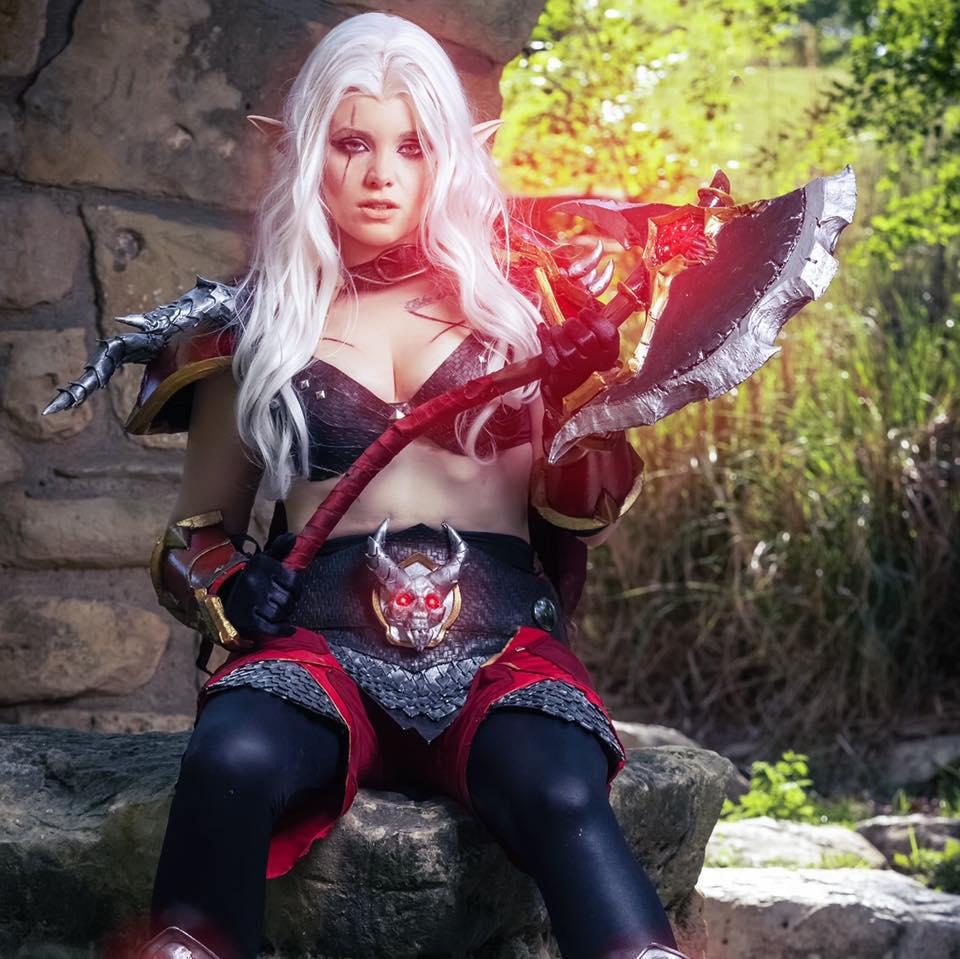 Genderbent World of Warcraft Herod by OhMySophii