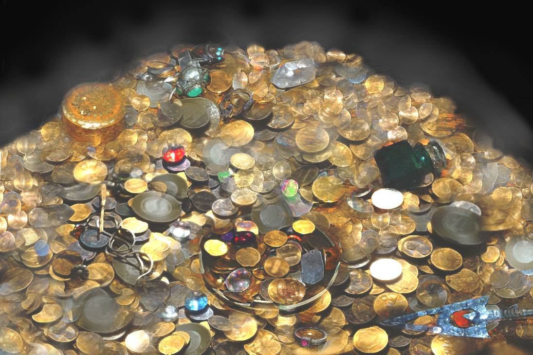 Pile of Treasure by Nicolas Uvena-Stefanovich