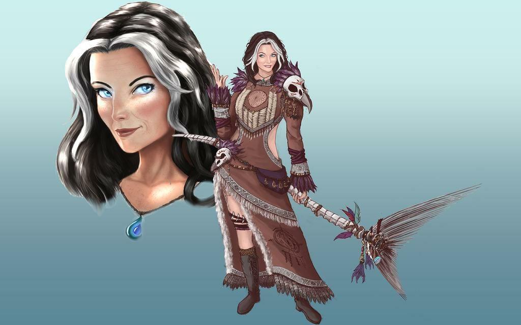 Shadowrun Shaman Malila Concept by Hoang Dai Tri