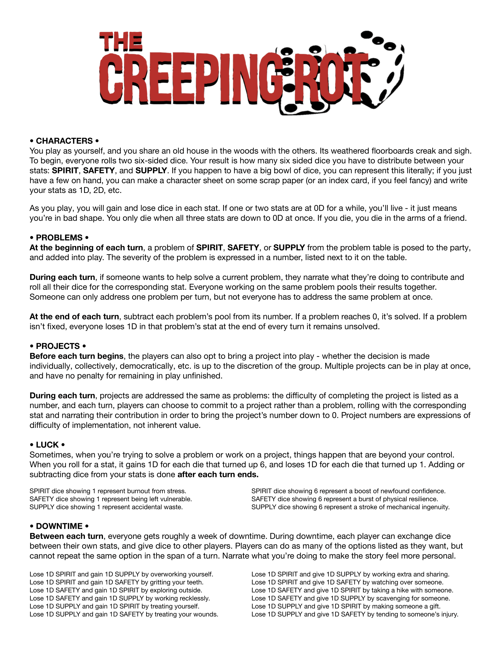 The Creeping Rot teaser