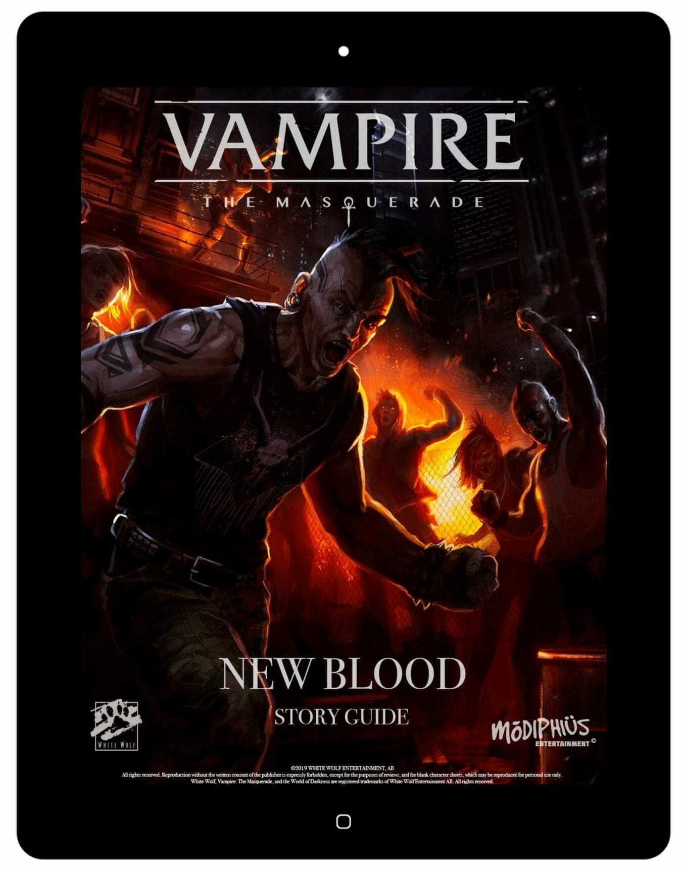 Vampire: the Masquerade - New Blood