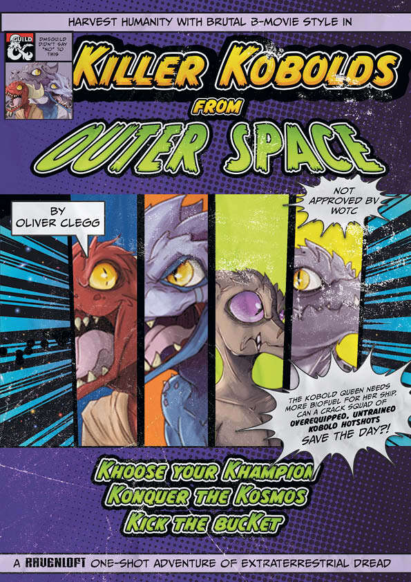 Killer Kobolds from Outer Space