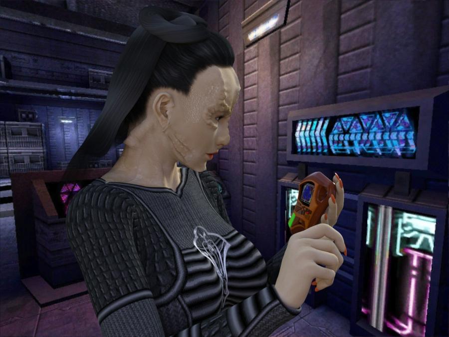 Cardassian Tricorder by MurbyTerk