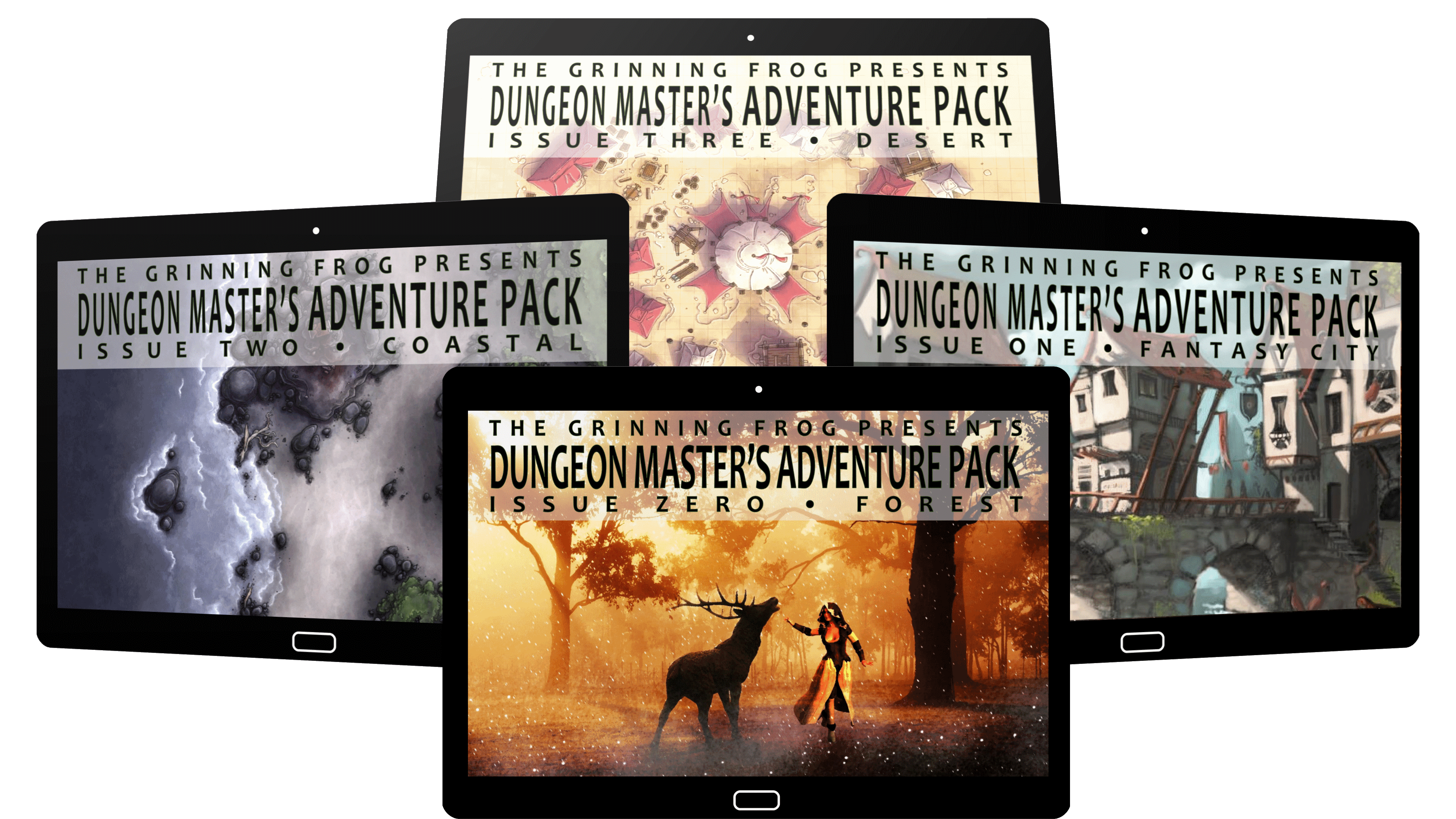 Dungeon Master's adventure pack