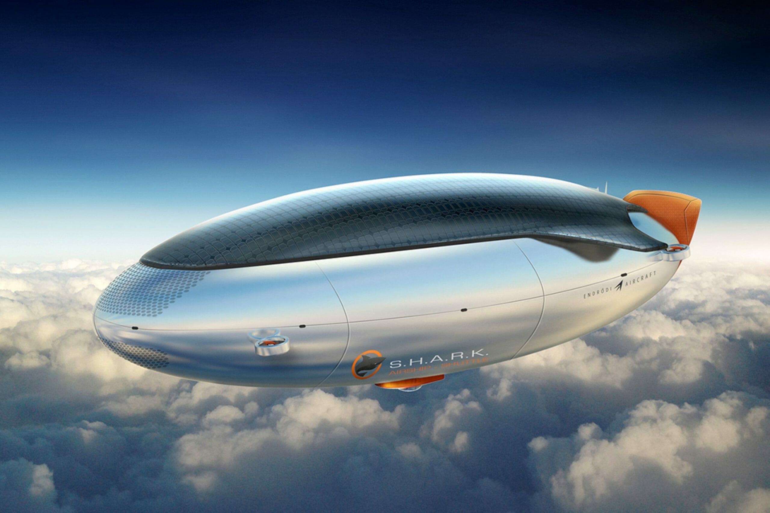 S.H.A.R.K. airship