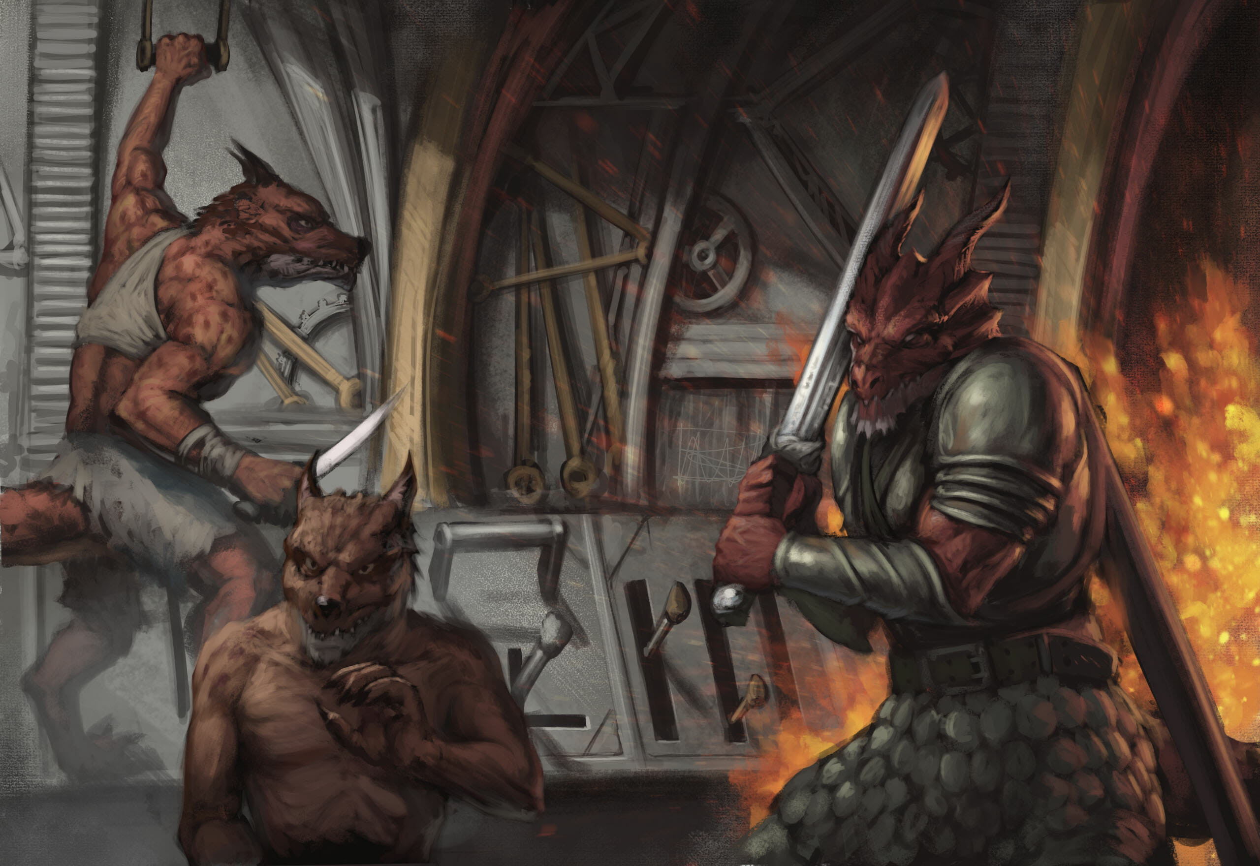 Dragonborn Knight