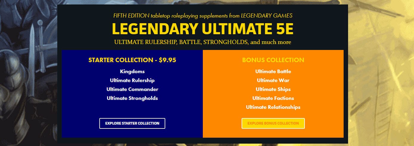 Legendary Ultimate 5e