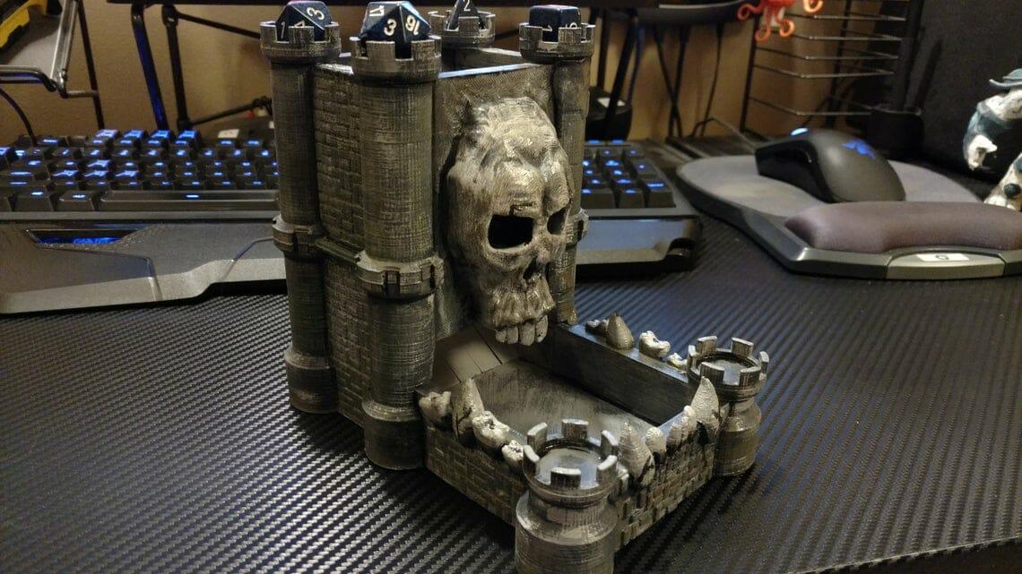 skull castle dice tower