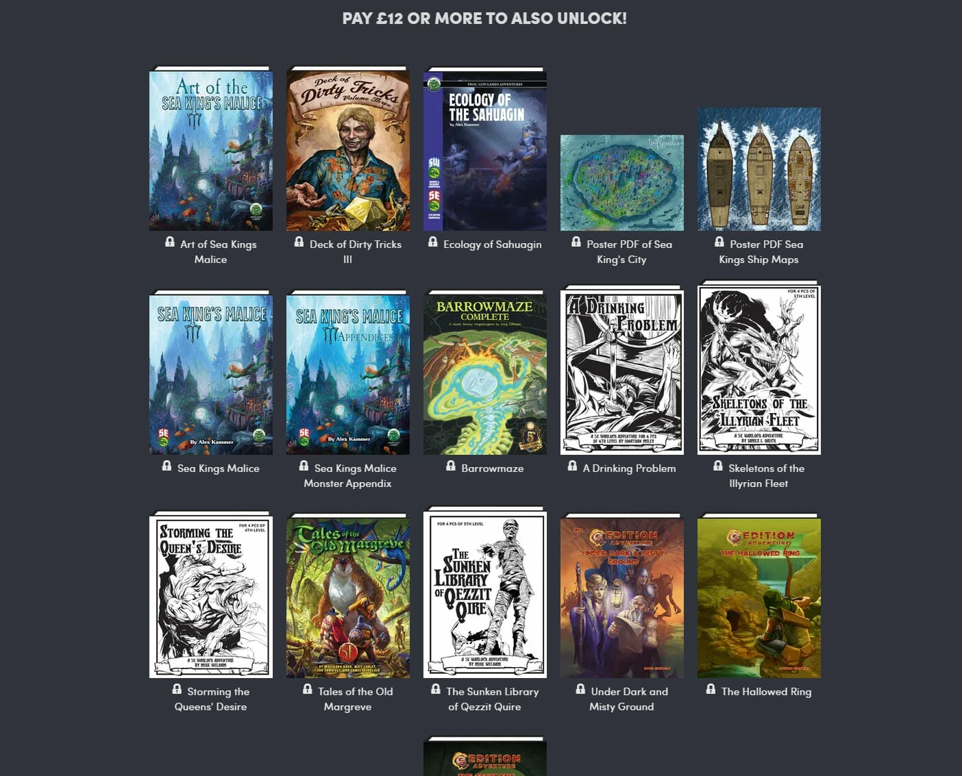 Dungeons, Mazes & Barrows 5e