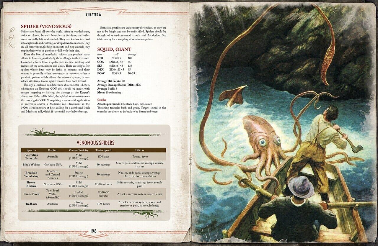 Cthulhu Mythos Bestiary