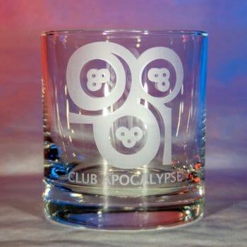 Club Apocalypse glass