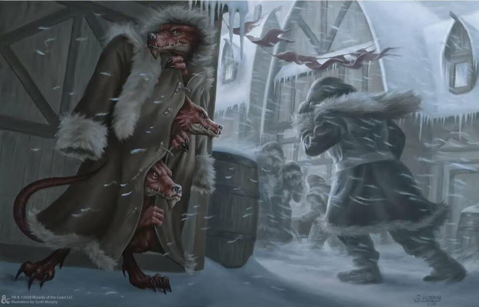 Three Kobolds in a cape