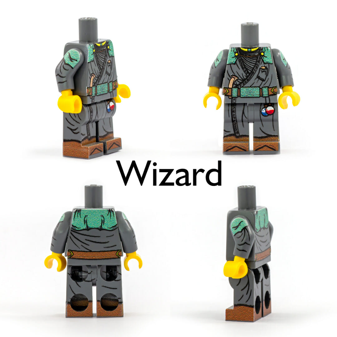 Wizard minifig