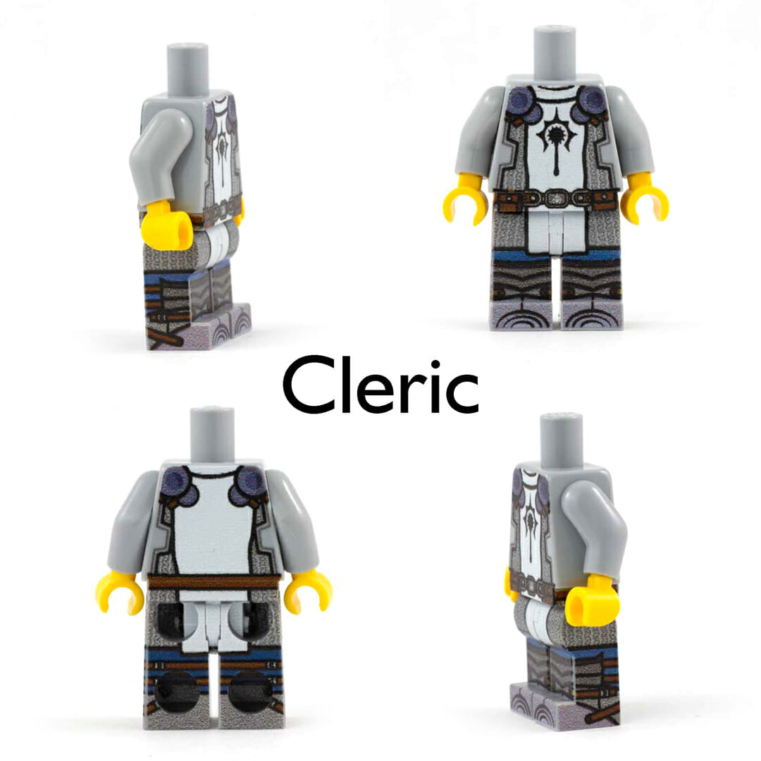 Cleric  minifig