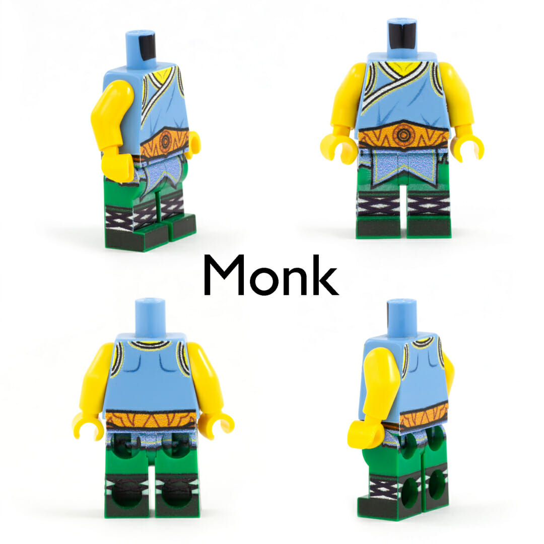 Monk  minifig