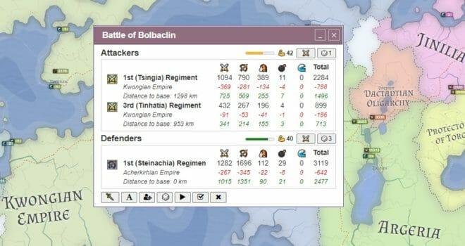 Azgaar Fantasy Map Generator military forces