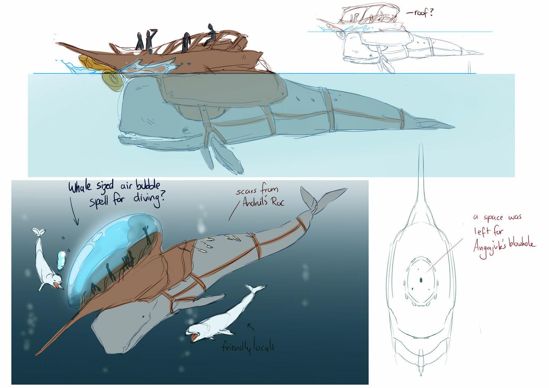 D&D: A talking sperm whale called Angajuk