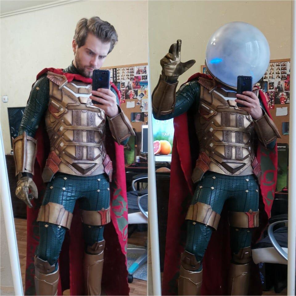 Grayson Fin as the MCU's Mysterio.