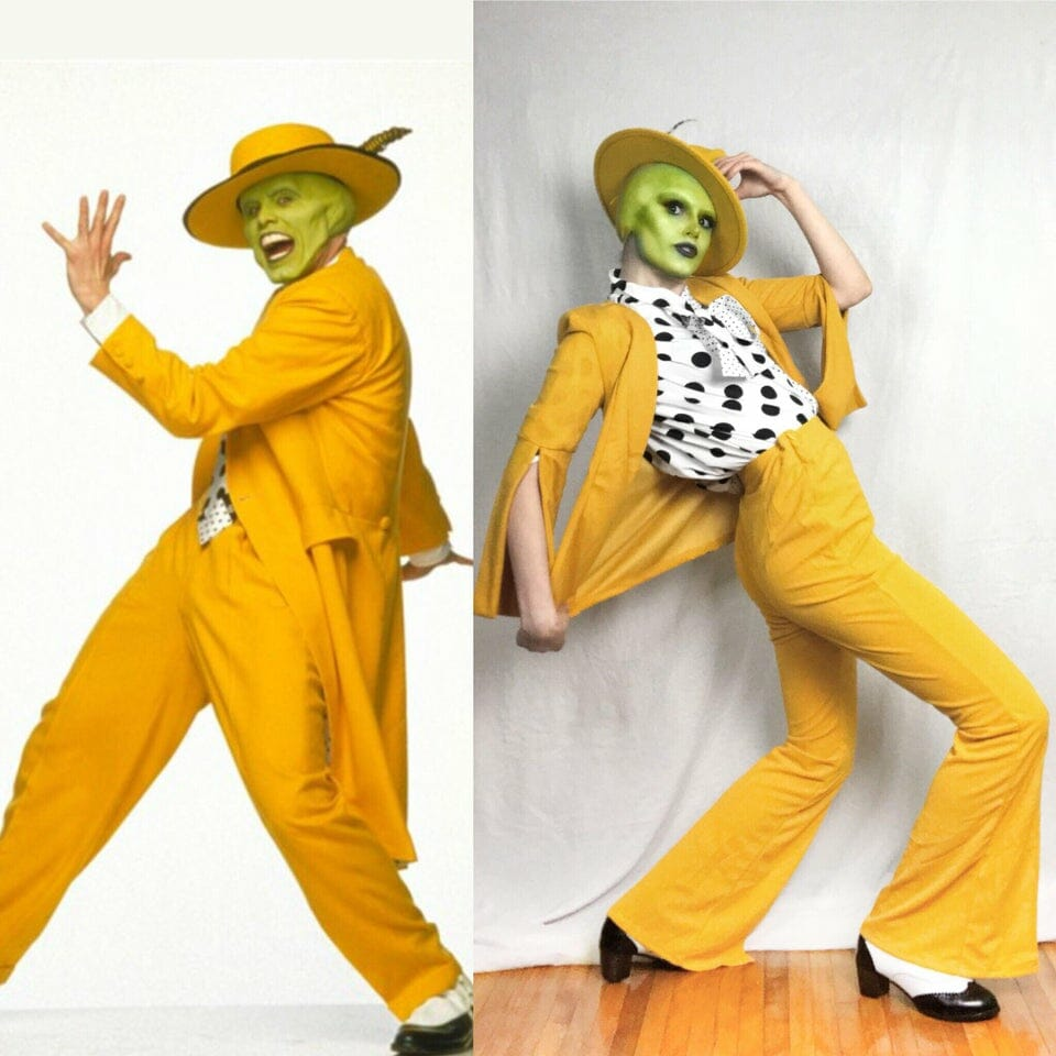 Kan Stelar as the movie version of The Mask.