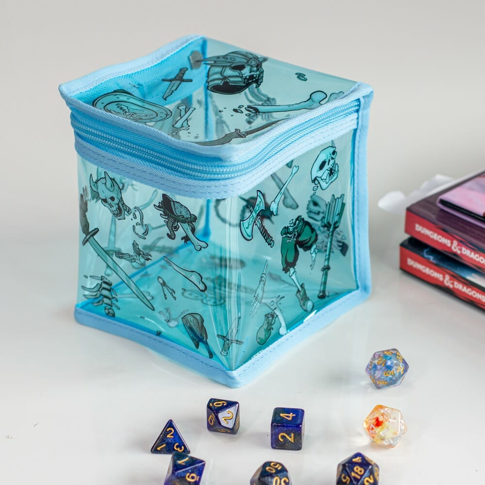 Gelatinous Cube dice bag