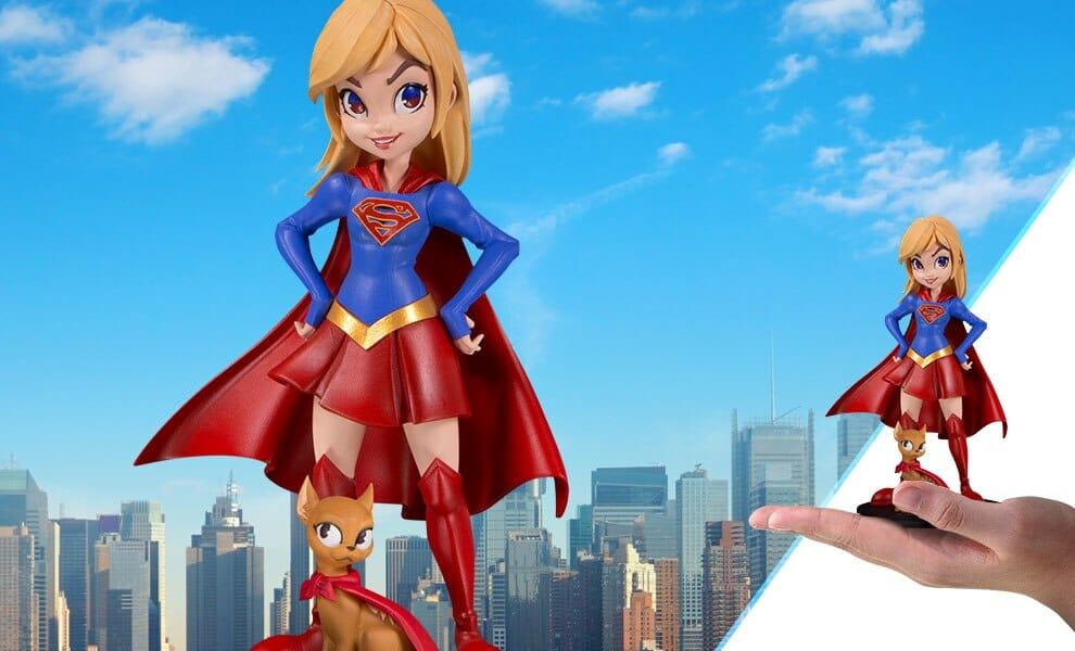 Supergirl model by Chrissie Zullo