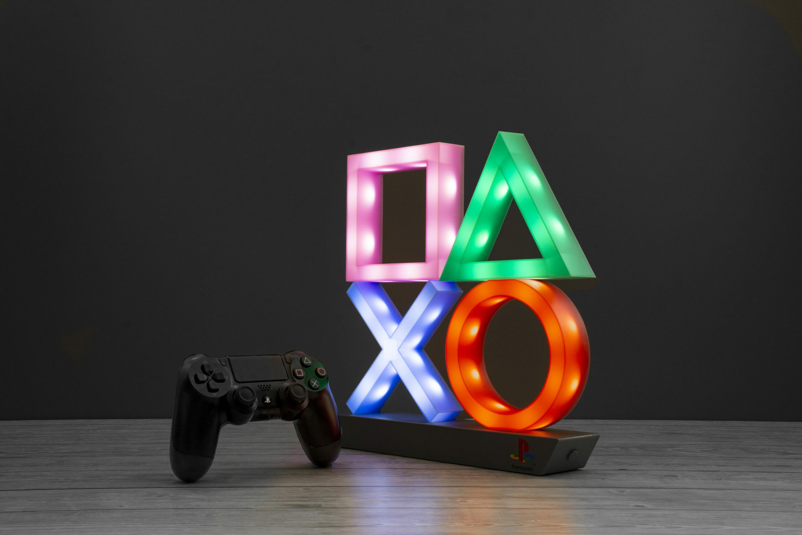 Playstation Icon Light