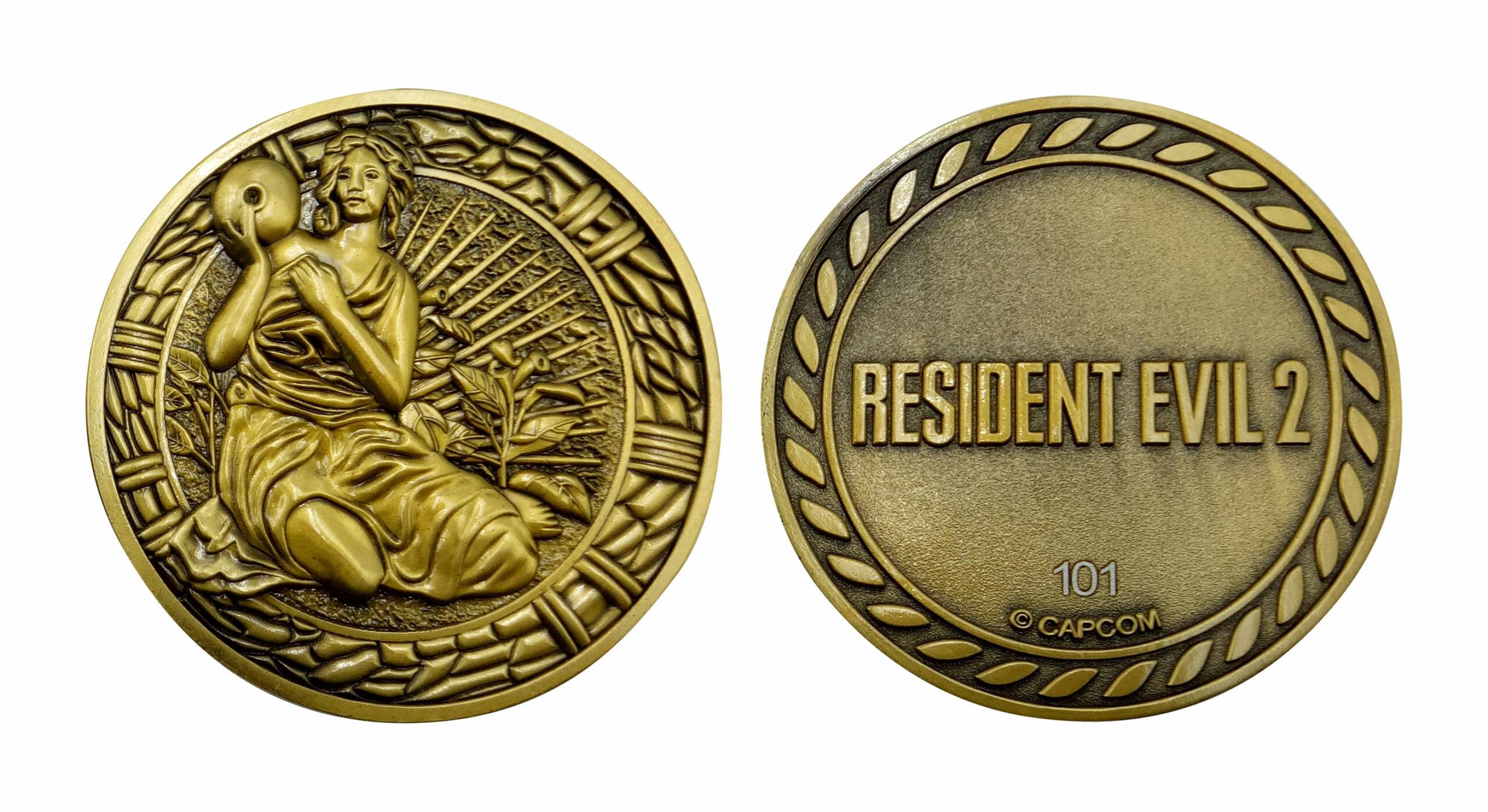 Resident Evil 2 Medallions - Maiden