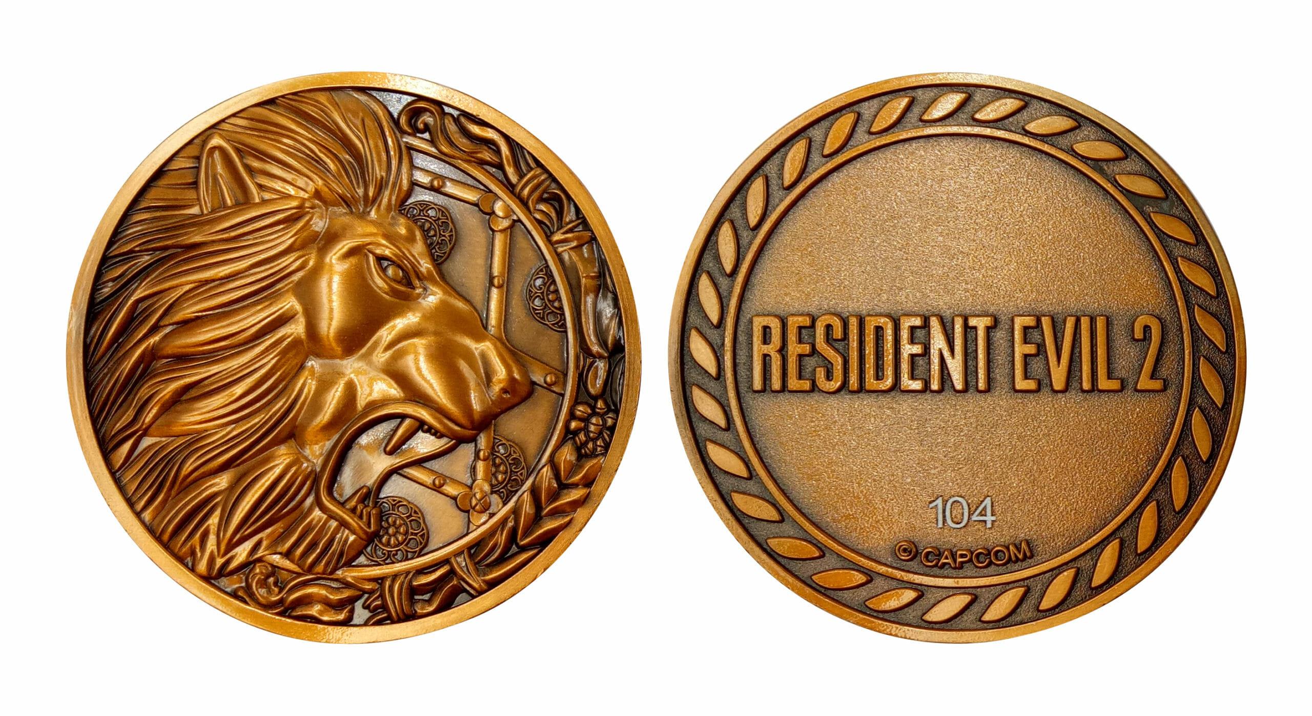 Resident Evil 2 Medallions - Lion