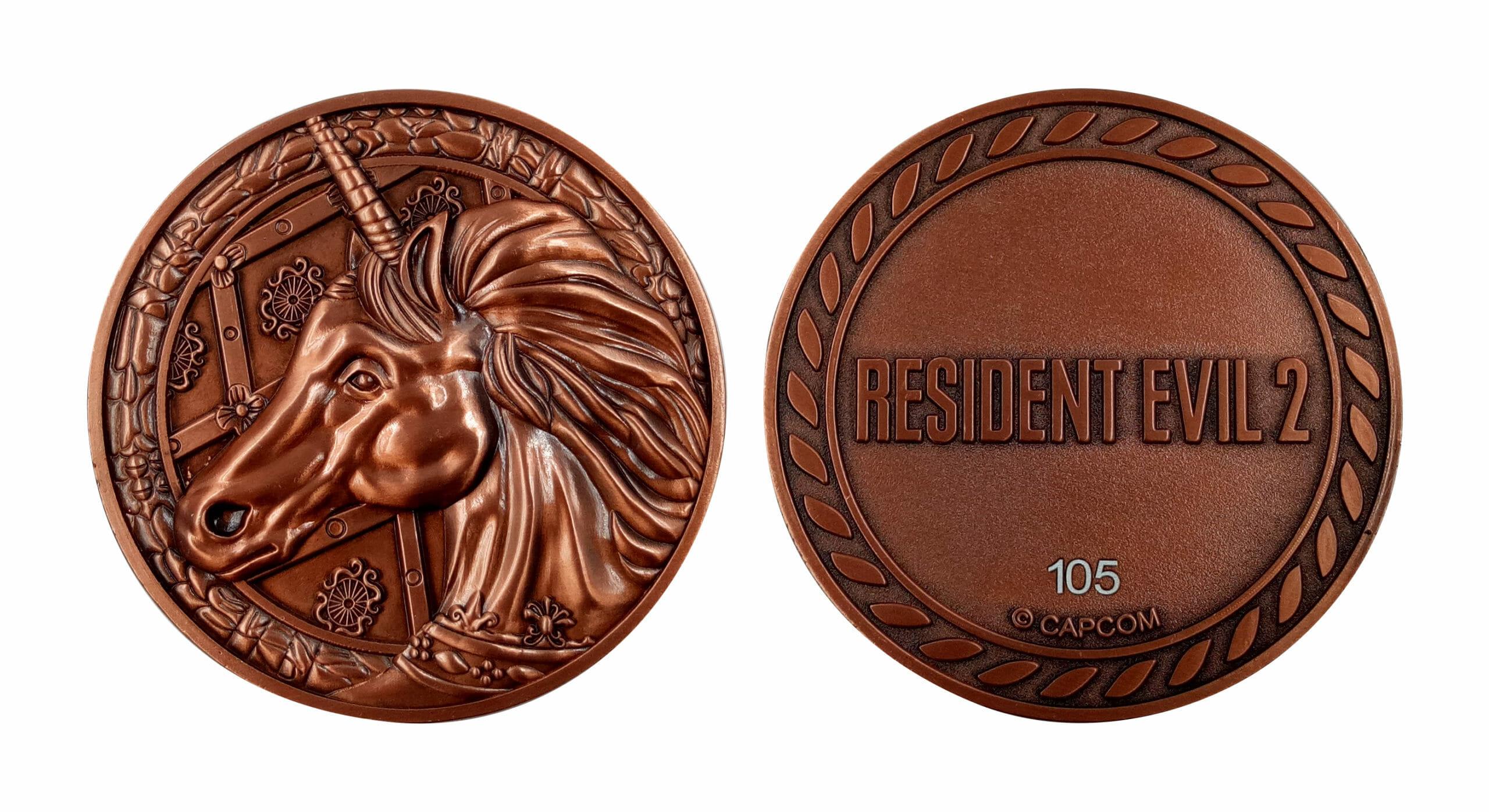 Resident Evil 2 Medallions - Unicorn