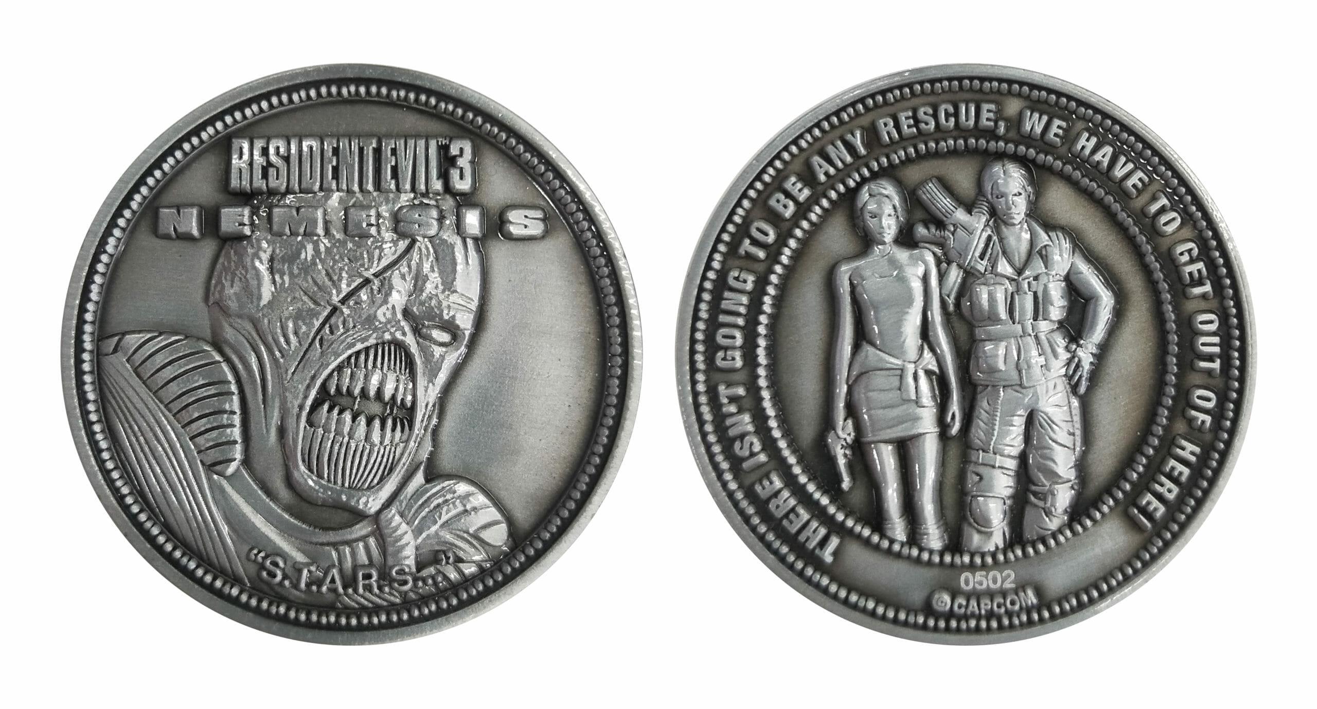 Resident Evil 3 Coin