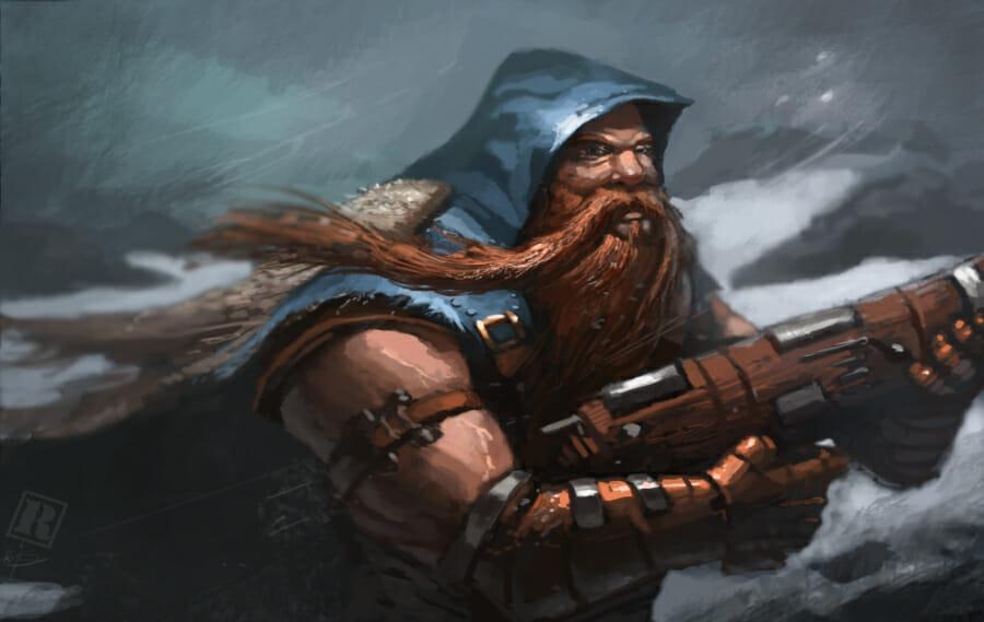 Dwarf rifleman by Raphtor